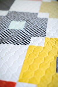 Flower Tile Quilt - TCJ Basics Bundle
