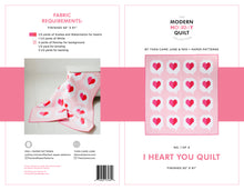 I Heart You Quilt - PDF