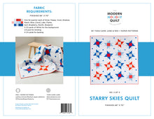 Starry Skies Quilt Pattern - PDF