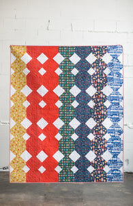 Paper Cuts Quilt Pattern - Printed
