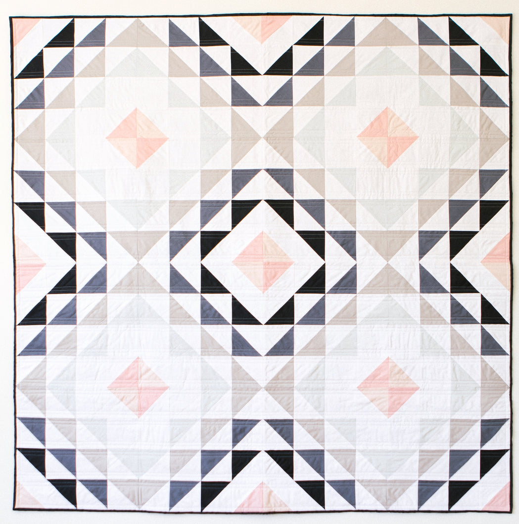 Diamond Ripples Quilt Pattern - PDF
