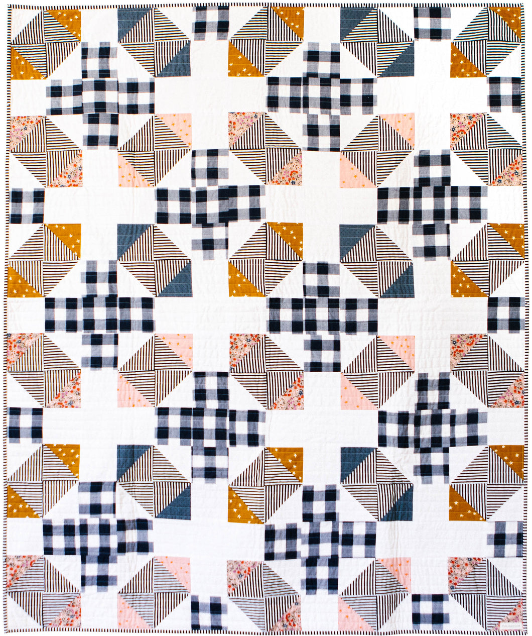 Ferry Crossing Quilt Pattern - PDF
