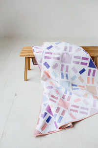 Sun Flare Quilt Pattern - Printed