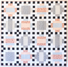 Domino Quilt Pattern - Printed