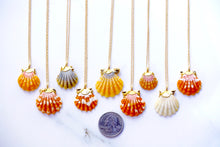 Load image into Gallery viewer, 24k Gold-Dipped Hawaiian Sunrise Shell Necklace
