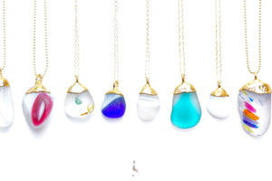 Tide Charmers x Rise Hawai'i Sea Glass Necklace