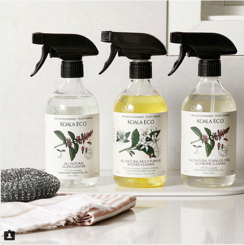 cleaning products sustainable company Koala Eco