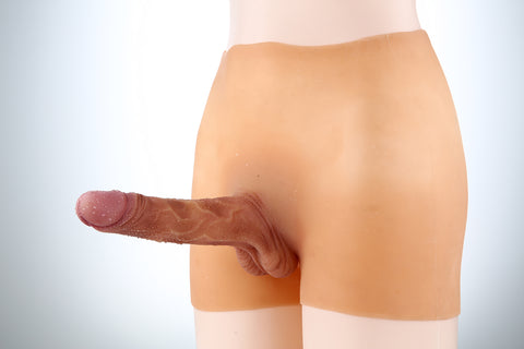 Full-silicone Dildo Underwear for Transmen in Flesh