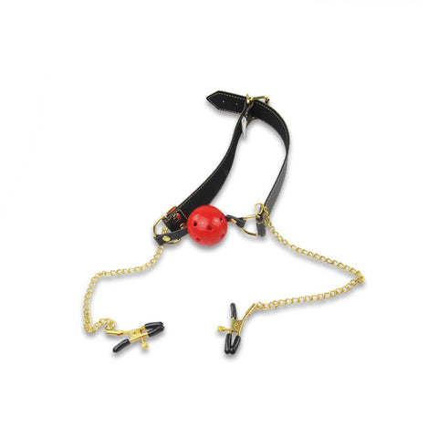 SM Tool of Breathable Gag & Adjustable Clamps