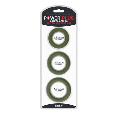 Power Plus Soft Silicone Snug Ring