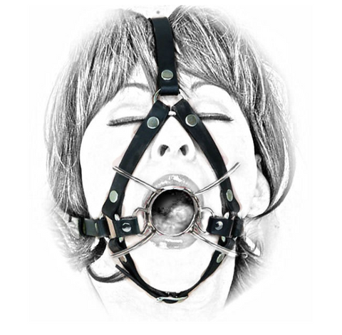 Spider Gag with Head Belt