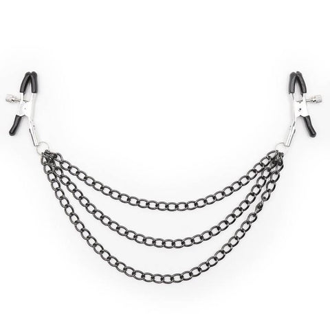Nipple Clamps with Metal Chains