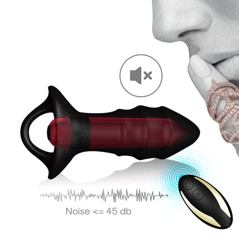 Vibrating Removable Anal Plug