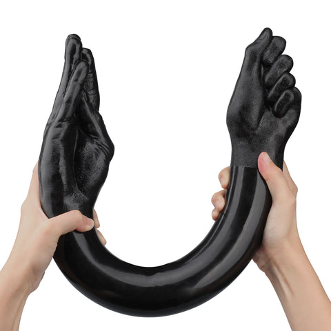 Black Fists Double Dong Being Fetish