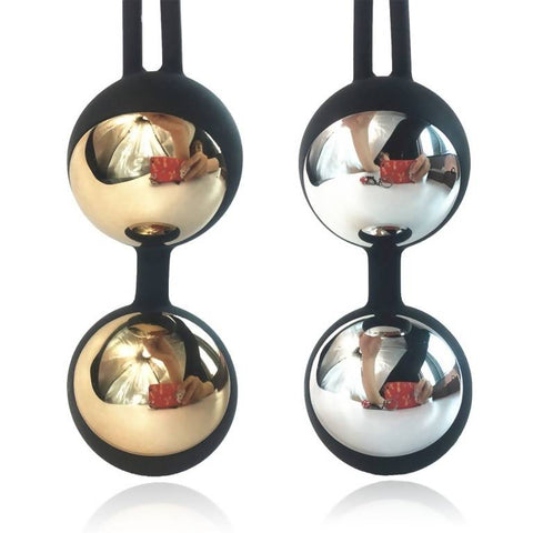 Silver&Golden Kegel Ball Kit