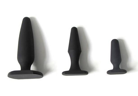 Shaped Butt Plug in 3 Sizes
