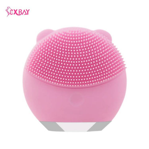 Battery Operated Silicone Massager Cleanser Sexbay
