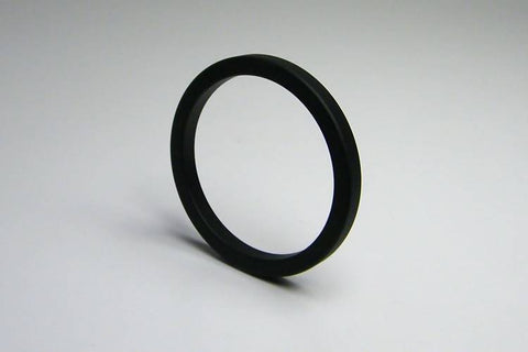 40/45/50mm Black Metal Cockring