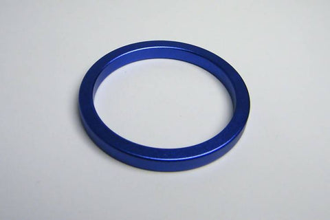 40/45/50mm Blue Metal Cockring