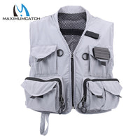 Maximumcatch Fly Fishing Vest Multi-Pocket Size M/L Fly Fishing Wader