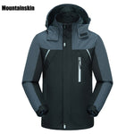 Mountainskin Men's Spring Breathable Waterproof Thin Fishing Jackets