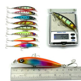 MUQGEW  43pc/set Fishing Lure Set Mixed 6 Models