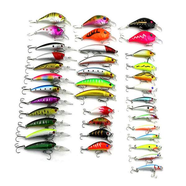 37 Styles Minnow Fishing Lures