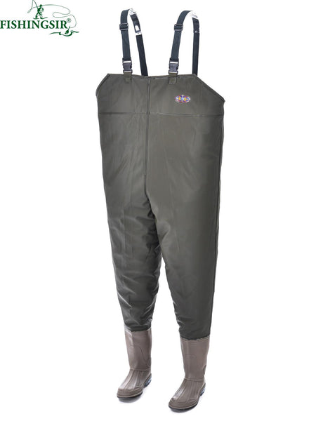 New Rubber Boot Foot Fly Fishing Waders Size 7-11.5