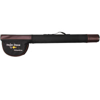 Triangle Cordura Tube 65 / 77cm Brown and Black Fly Fishing Rod Case Rod Tube