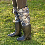 Camouflage Knee High Waterproof Boots For Fishing/Hunting