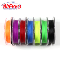 Wifreo 50m/spool 200D Bright Color Rod Wrapping Cotton Thread for Baitcast / Fly Fishing Rod Building