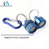 Maximumcatch Magnetic Net Release Fly Fishing Tool Blue/Black Color Fishing Accessory