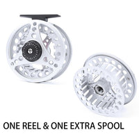 Maximumcatch Fly Fishing Reel 1/2/3/4/5/6/7/8 WT Large Arbor Die Casting Aluminum Fly Reel