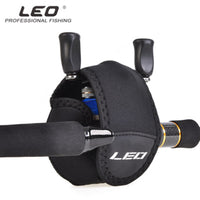 LEO Protective Fishing Reel Cover Portable Fishing Protector Cover Spinning Reel