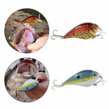 Crankbait Bass Fishing Lure Wobbler