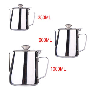 350, 600, or 1000ml Stainless Steel Pitcher