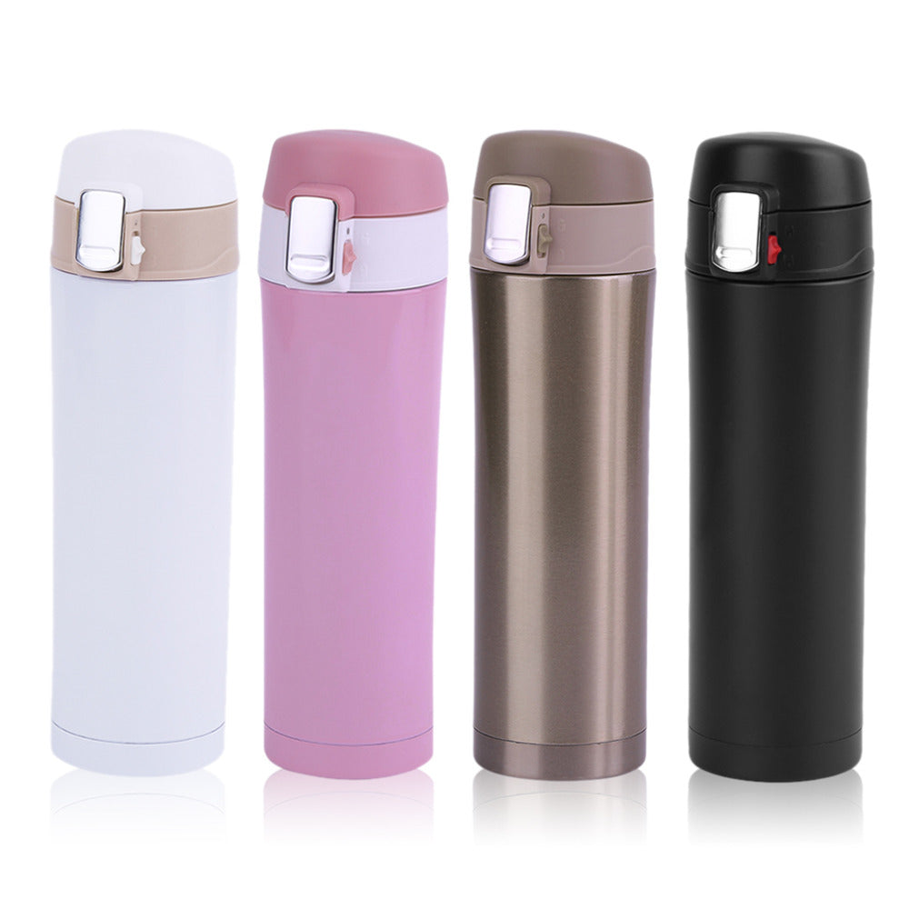 500ML Stainless Steel Bicycle Water Bottle