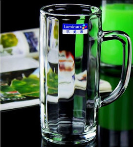 Bows Tall Glass Mug 380ml