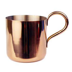 300ML/500ML Stainless Steel Hammered Copper Mug Moscow Mule Mug