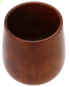 Chinese Style Handmade Natural Spruce Wood Cup