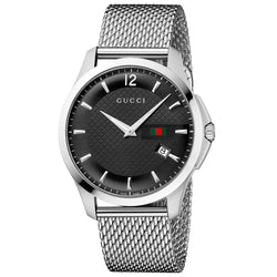 Gucci G-Timeless Stainless Steel Mesh Men's WatchGucci G-Timeless Stainless Steel Mesh Men's Watch