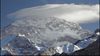 Aconcagua summit, covered by the