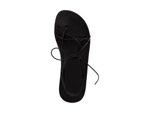 AELIA sandal — black leather