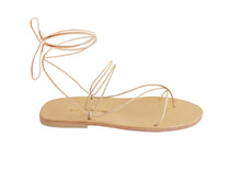 AELIA sandal — tan leather