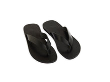 LIZ flip flop — black leather