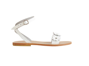 SALE Mera sandal — white leather