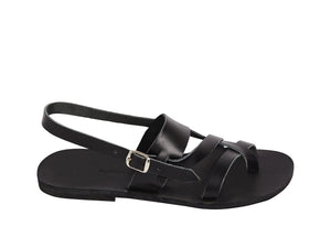NYX sandal — black leather