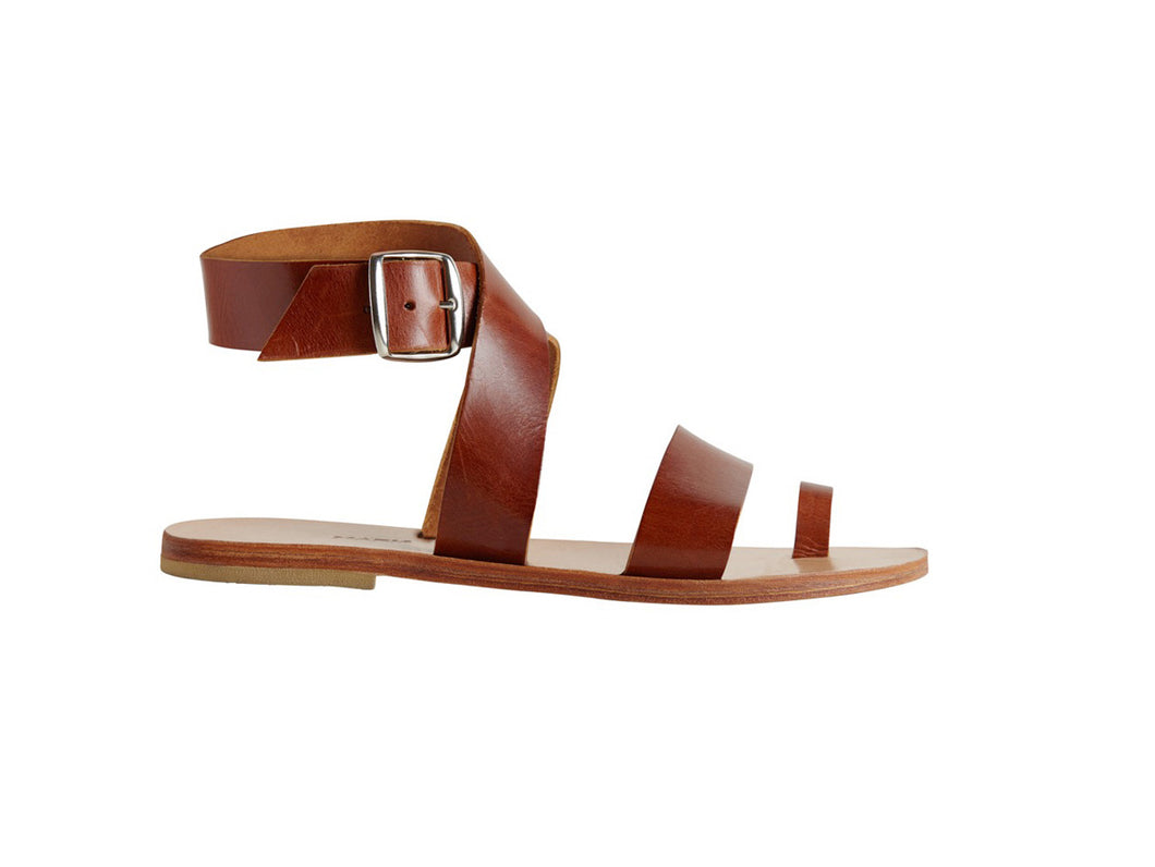 SARAH sandal — tampa dark leather