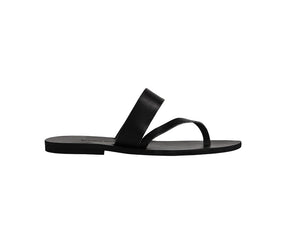 THERA slides — black leather