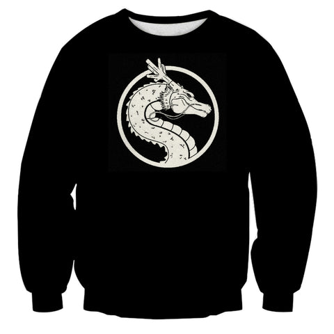 Dragon Ball Shenron Minimalist Sweatshirt - Game Geek Shop